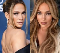 Jennifer Lopez Hair Change Chunky Highlights