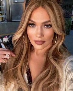 Jennifer Lopez Personalized Hoop Earrings