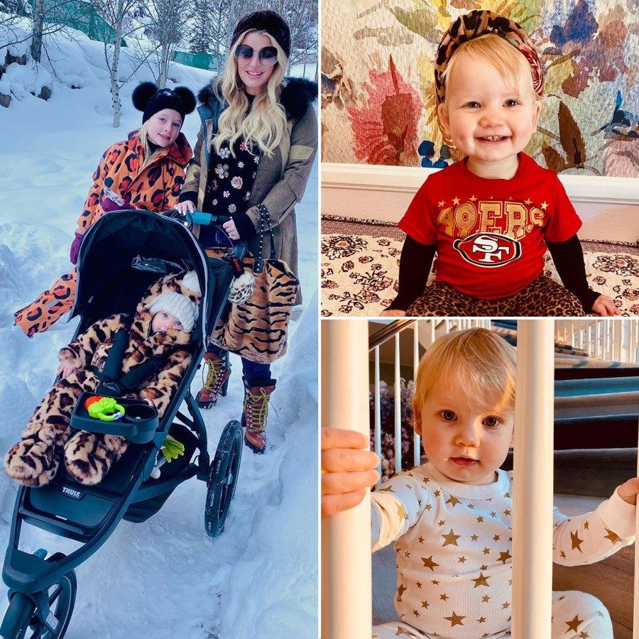 Jessica Simpson and Eric Johnson Daughter Birdie Cutest Pics