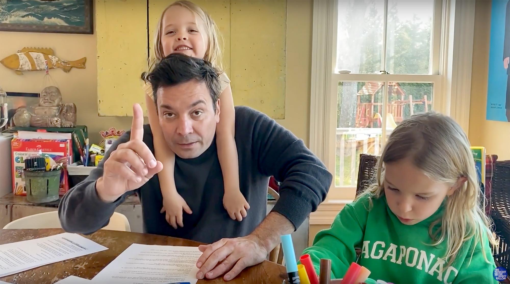 Jimmy Fallon Kids Hilariously Crash TV Show Appearances