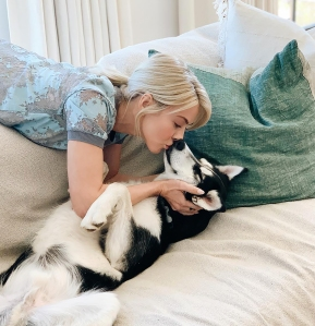 Julianne Hough and More Stars Bond With Their Pets During Coronavirus Quarantine