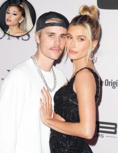 Justin Bieber Says Wife Hailey Bieber Wears Ariana Grande's Perfume