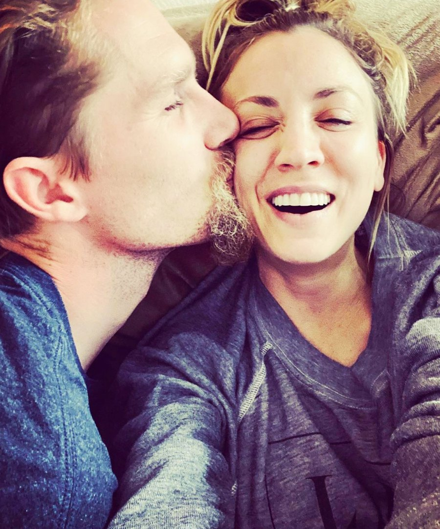 Kaley Cuoco and husband Karl Cook have been living apart since their 2018 nuptials but finally shared photos of their new home together