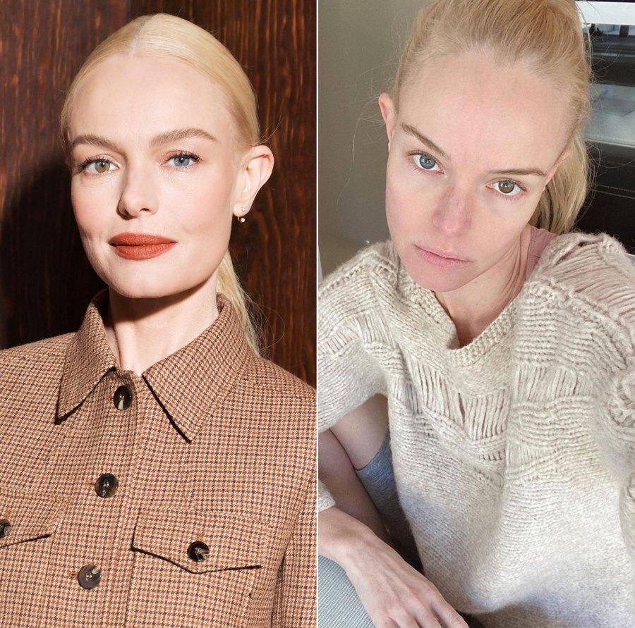 Kate Bosworth Makeup-Free Instagram