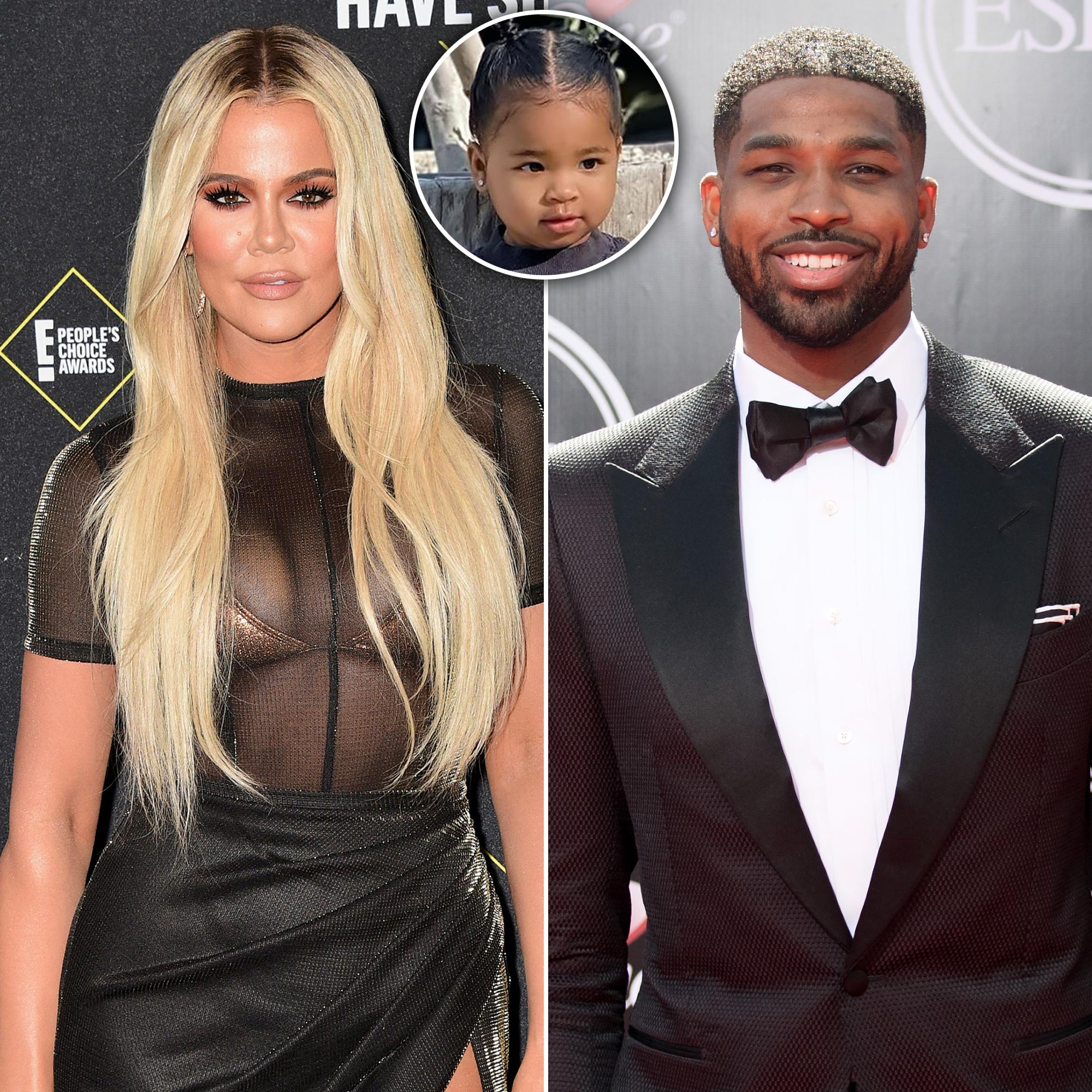 Khloe Kardashian, Ex Tristan Thompson and Daughter True Quarantine Together Amid Coronavirus