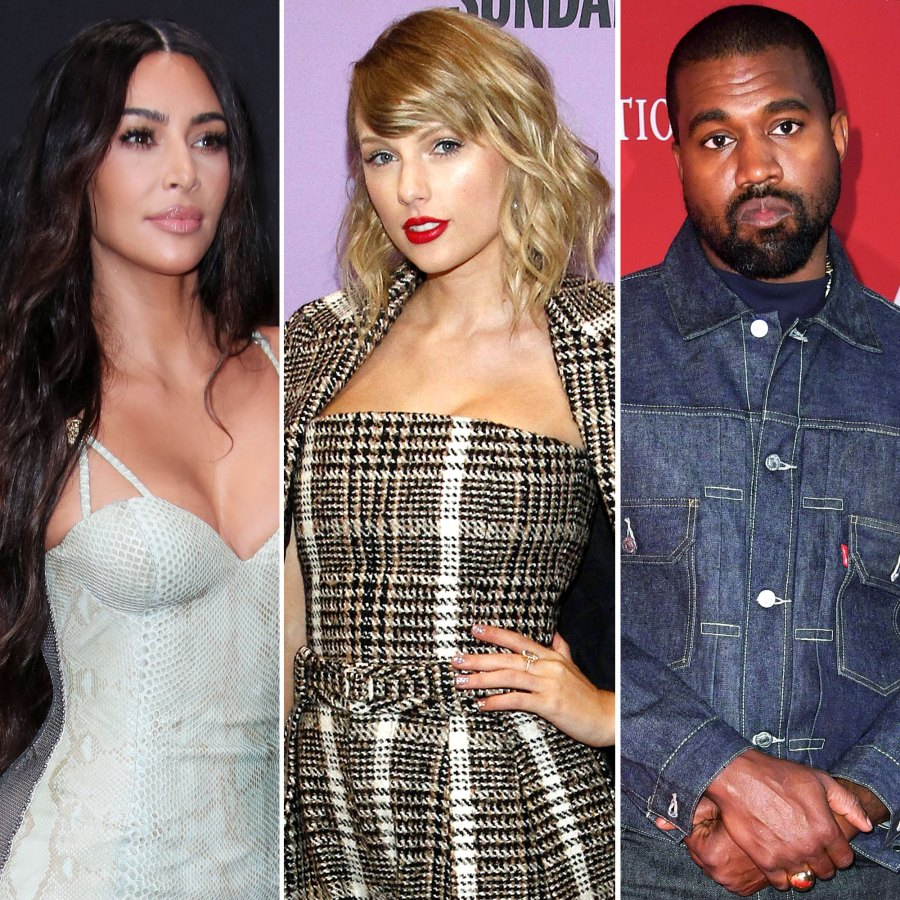 Kim Kardashian Accuses Taylor Swift of Lying Over Leaked Kanye West Video