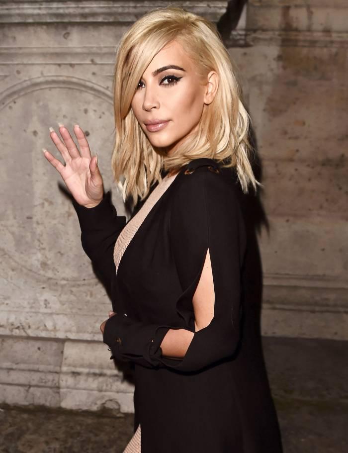 Kim Kardashian Is Thinking of Going Blonde After Quarantine