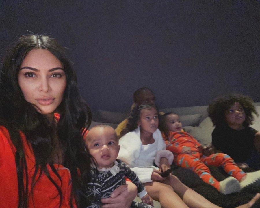 Kim Kardashian and Kanye West Enjoy Family Time Following Taylor Swift Drama