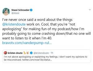 Kristen Doute Defends Herself Over Miscontrued Stassi Schroeder Comments