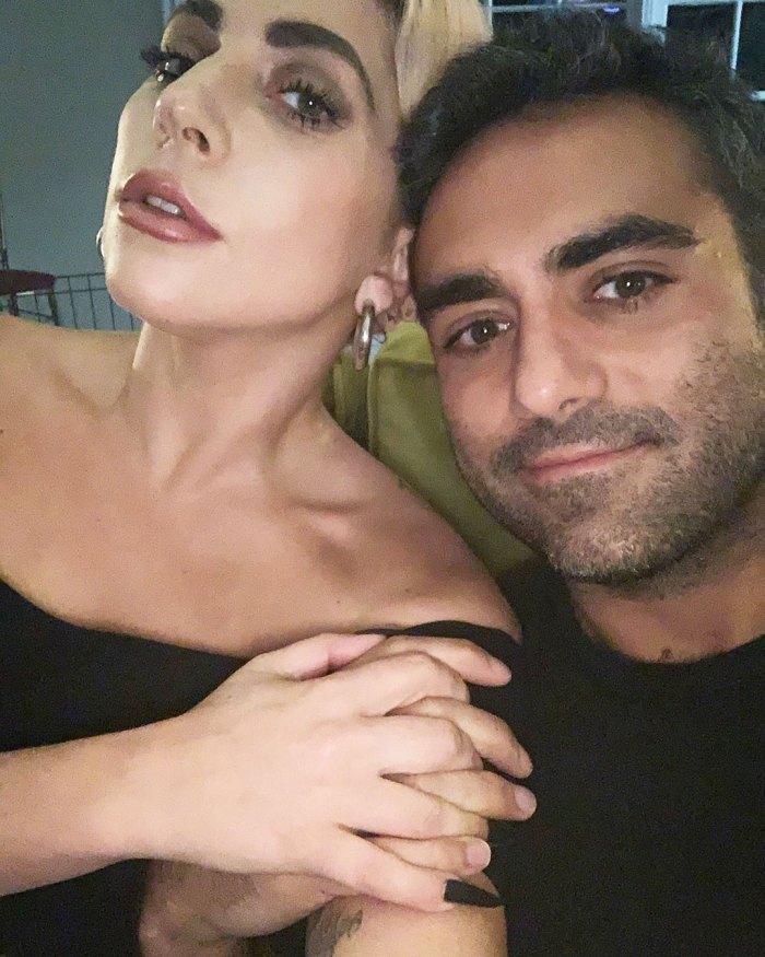Lady Gaga Cuddles Up to Boyfriend Michael Polansky on 'Day 6 of Self-Quarantining