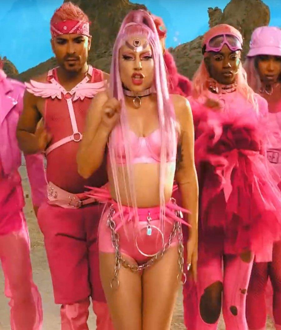 Lady Gaga Through the Years