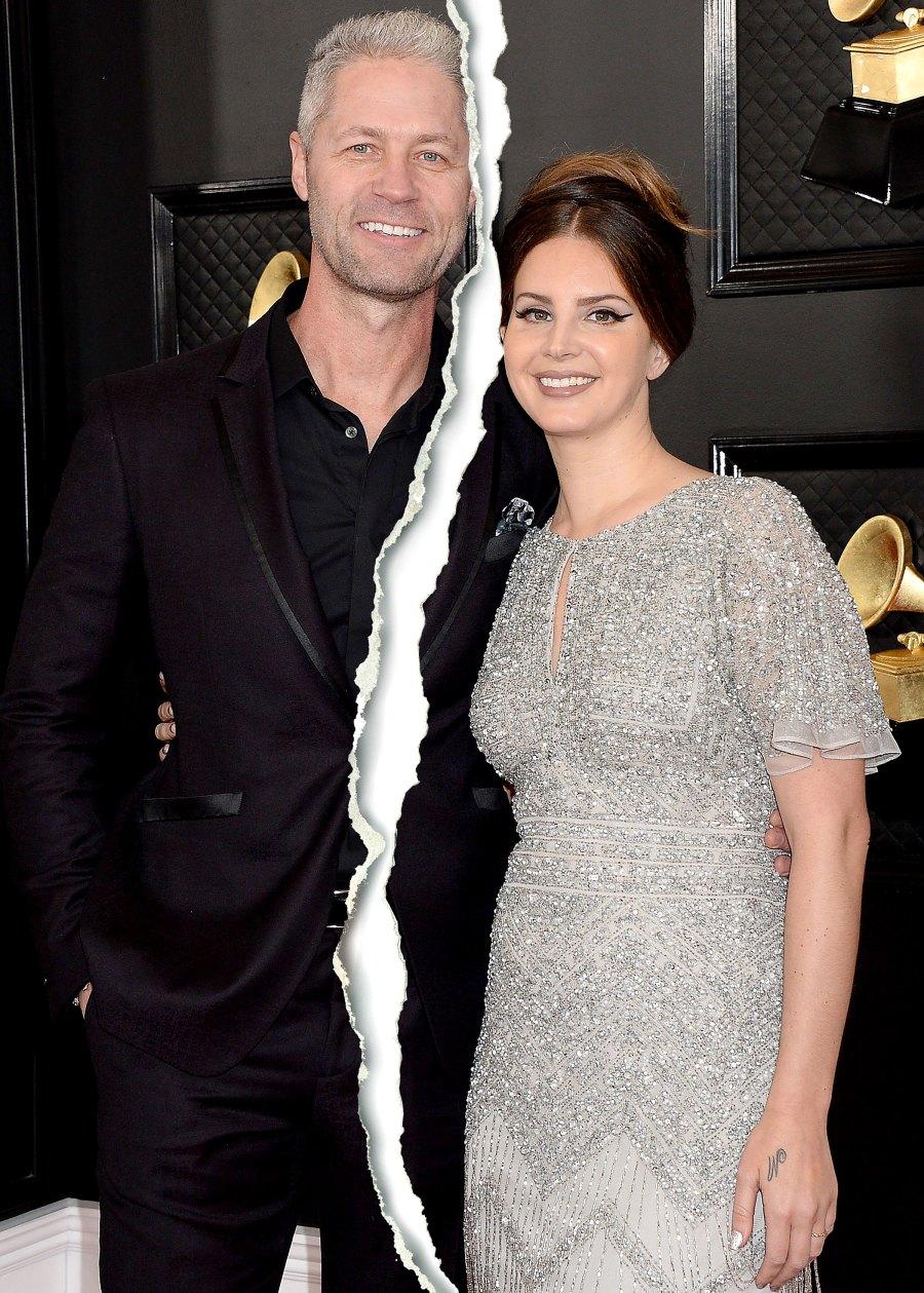 Lana Del Rey Sean Sticks Larkin Celebrity Splits of 2020