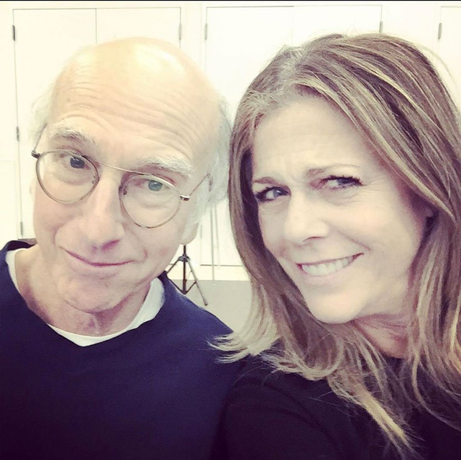 Larry David and Rita Wilson Coronavirus Survivor