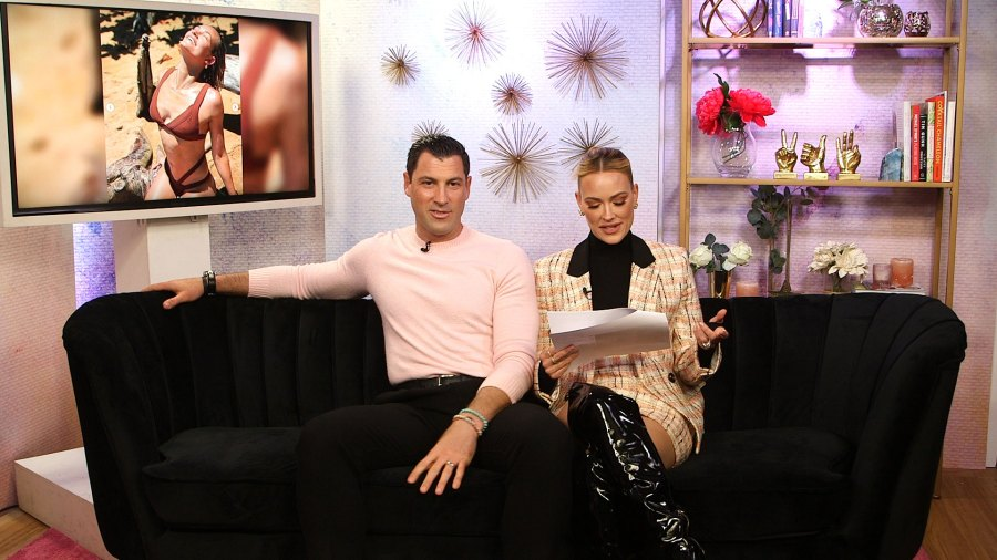Maksim Chmerkovskiy and Peta Murgatroyd Share Stories Behind Their Most Interesting Instagrams