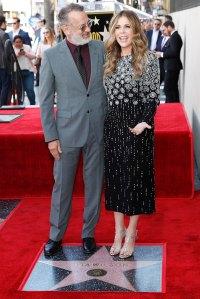 March 2019 Walk of Fame Tom Hanks and Rita Wilson Relationship Timeline