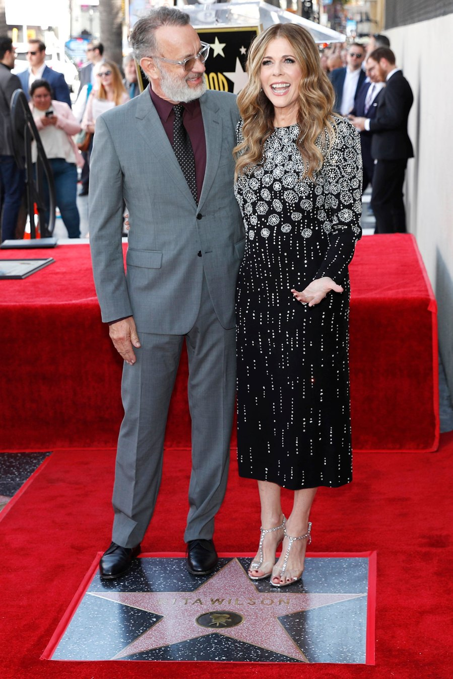 March 2019 Walk of Fame Tom Hanks and Rita Wilson Relationship Timeline