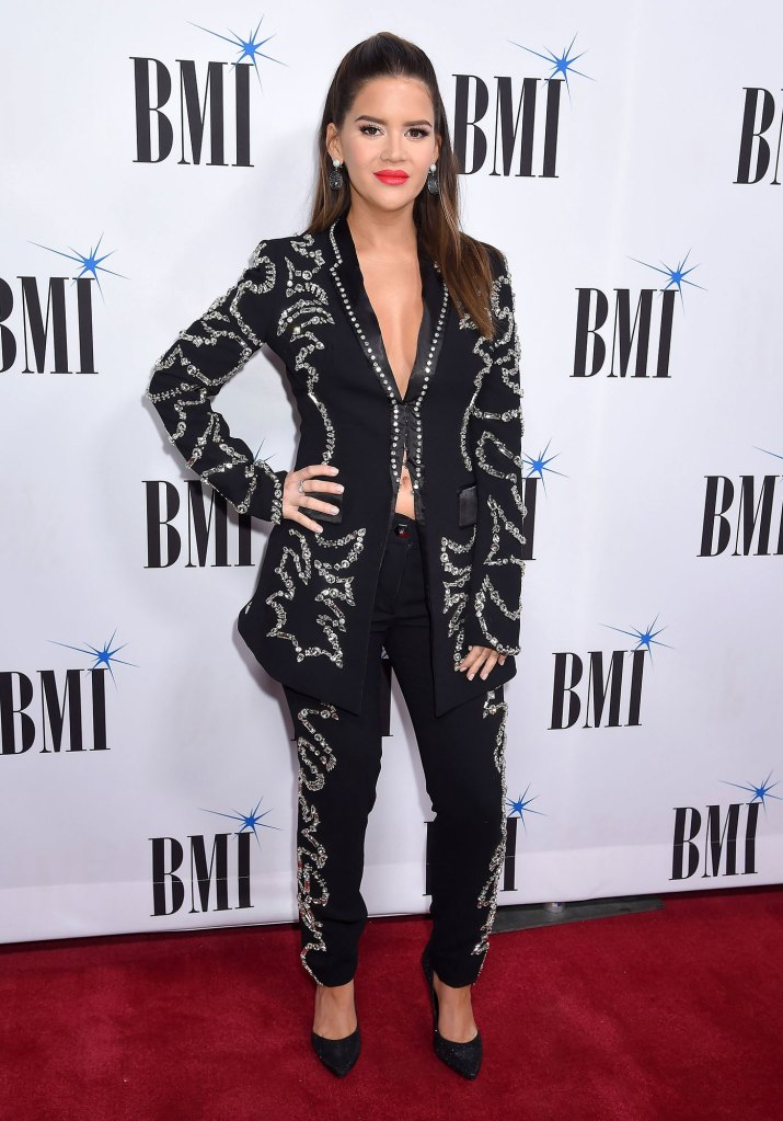 BMI Country Awards Maren Morris Reflects on Son Hayes Delivery