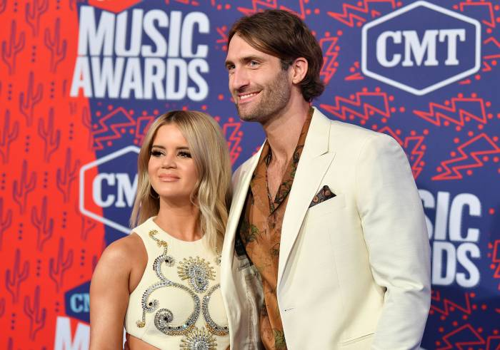 Maren Morris and Ryan Hurd CMT Music Awards Maren Morris Reflects on Son Hayes Delivery