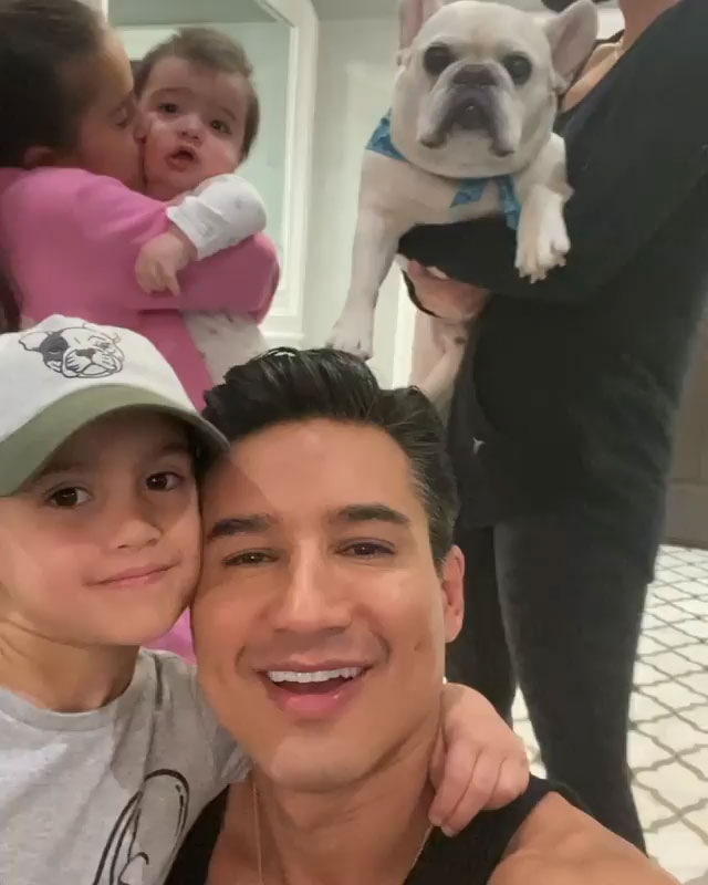 Mario Lopez Introduces Fans To New Puppy Named Oscar Q101