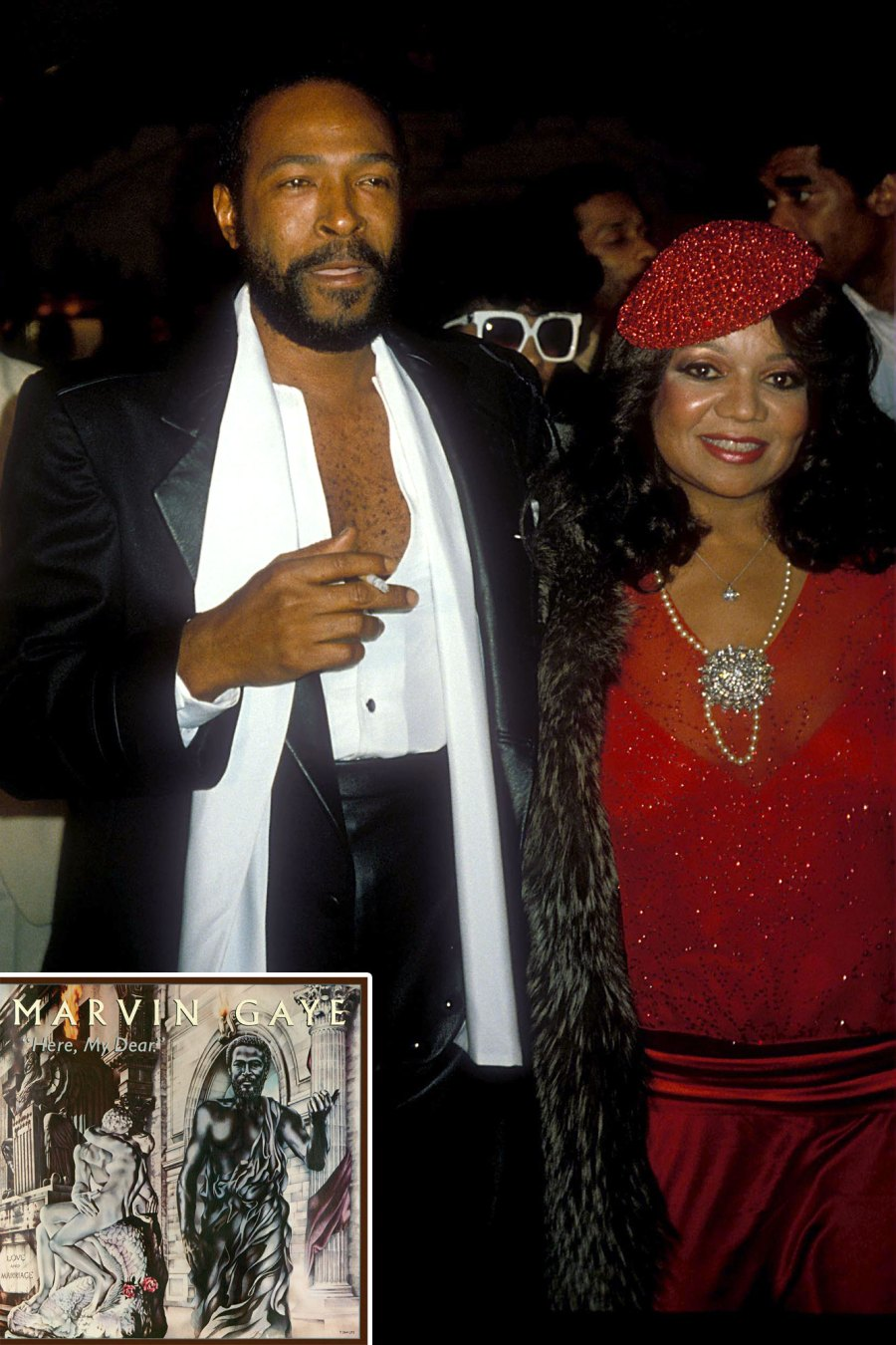 Marvin Gaye Here My Dear Anna Gordy Gaye Albums Dedicated to Significant Others