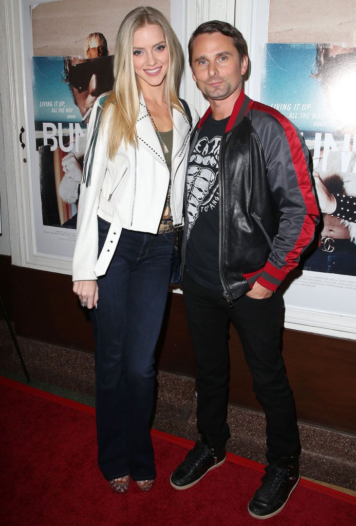 Matt Bellamy Welcomes 2nd Child, His 1st With Wife Elle Evans