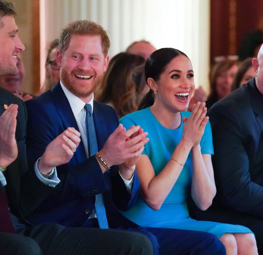 Meghan Markle and Prince Harry Witnessed a Proposal Endeavour Fund Awards