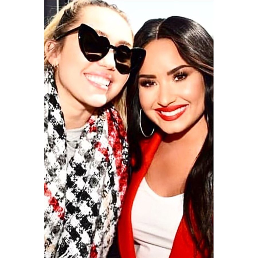 Miley Cyrus Demi Lovato Friendship Throughout the Years