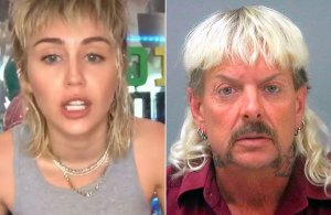 The Internet Thinks Joe Exotic and Miley Cyrus Have the Same Hairstyle
