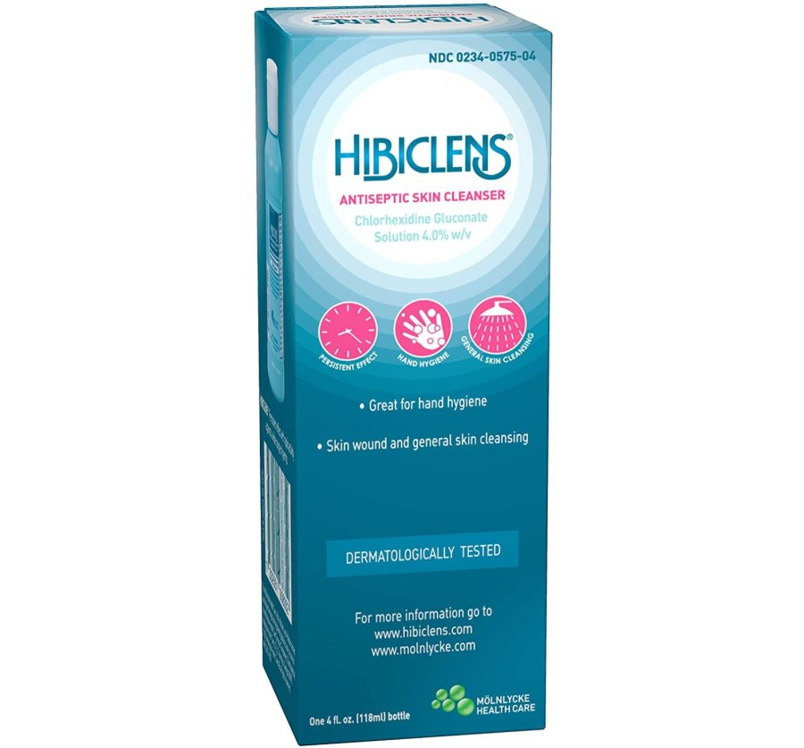 Molnlycke Hibiclens Antimicrobial:Antiseptic Skin Cleanser, 4 Fluid Ounce Bottle