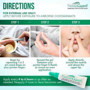 NASALGUARD Allergy Relief and Allergen Blocker Nasal Gel