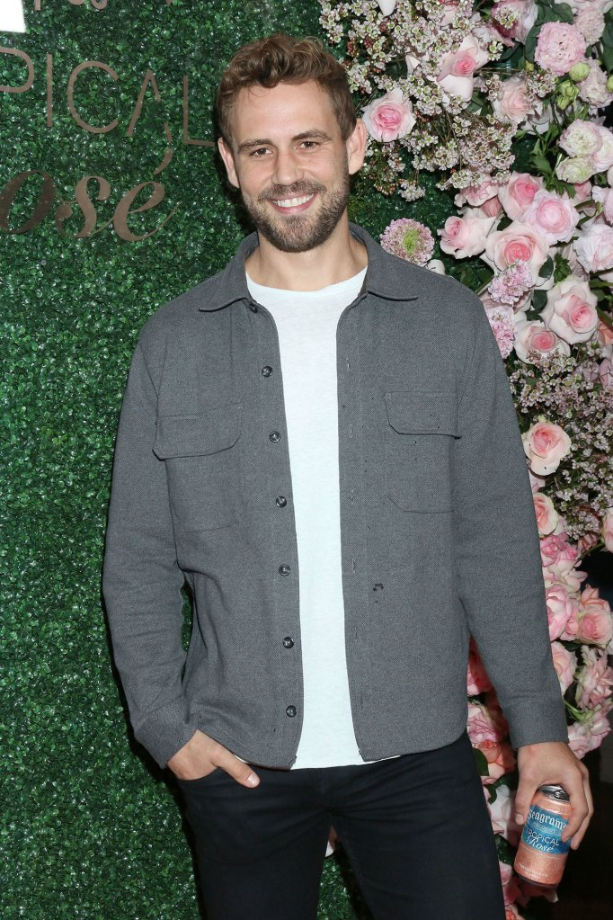Nick Viall Seagram's Escapes Tropical Rose Launch Party