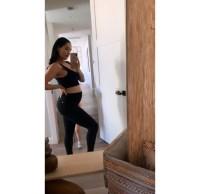 Nikki Bella baby bump 2