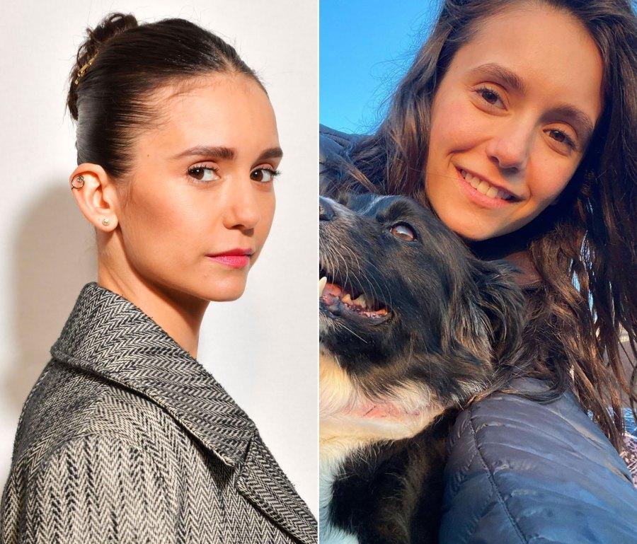 Nina Dobrev Makeup-Free