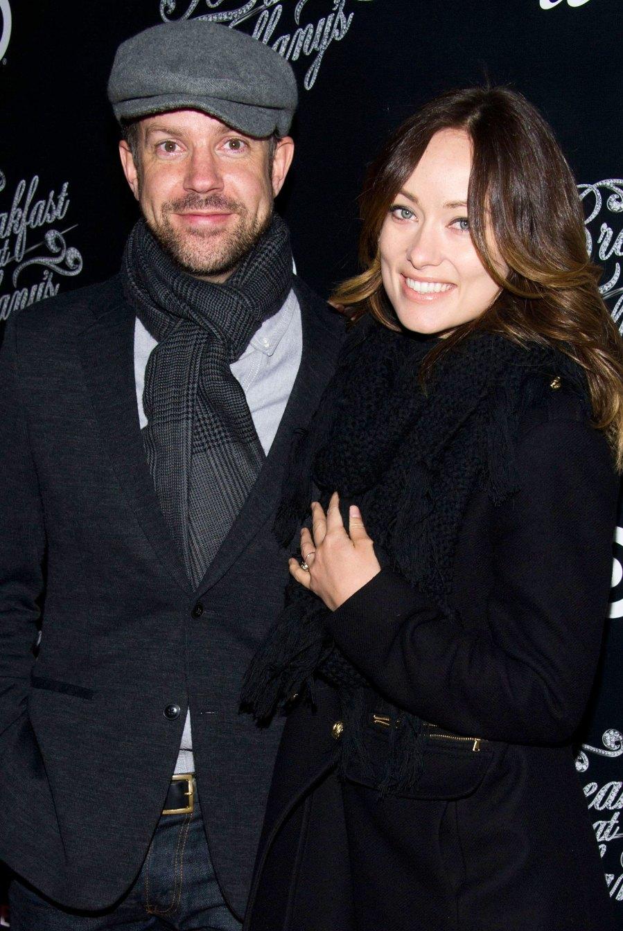 Olivia Wilde Jason Sudeikis A Timeline of Their Relationship