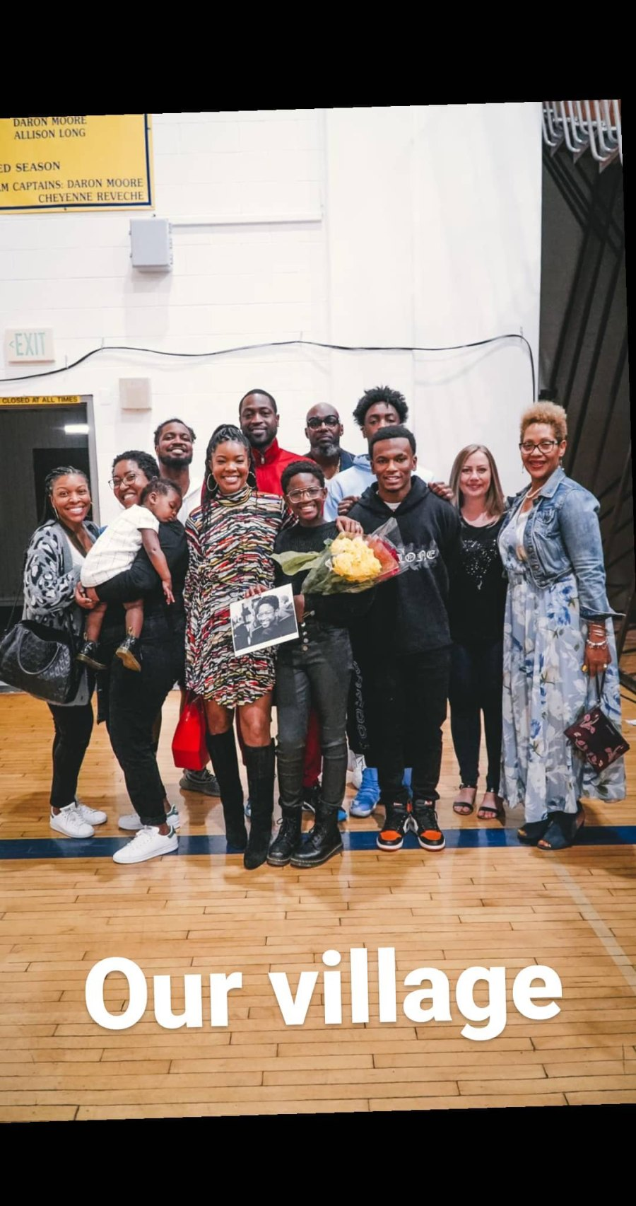 Dwyane Wade, Gabrielle Union and Their Kids Support Zaya at Performance