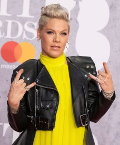 Pink Shows Off Her Hair After Drunkenly Cutting it the Night Before