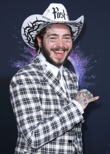 Post Malone On His Face Tattoos