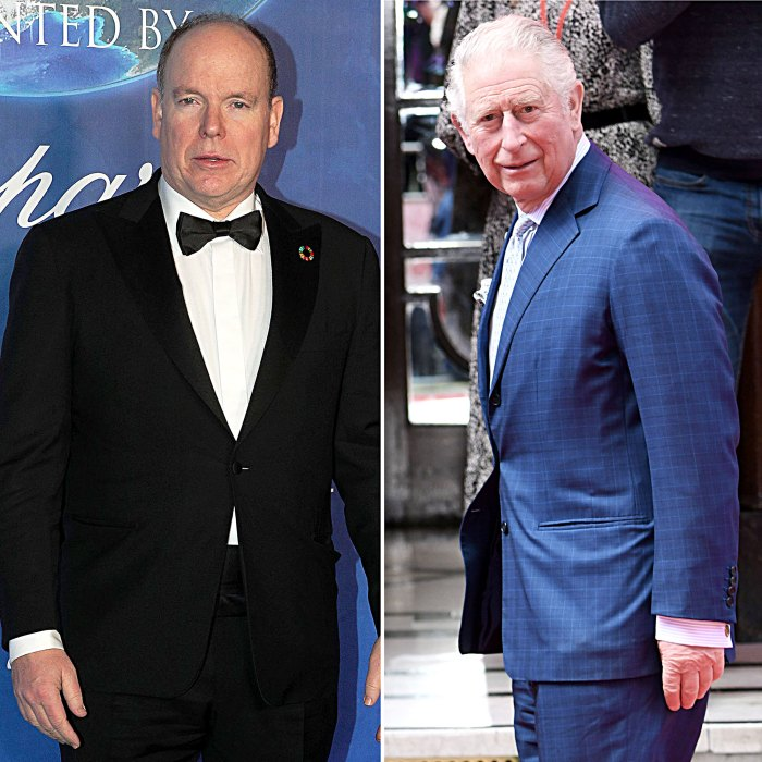 Prince Albert Denies Contaminating Prince Charles With Coronavirus We Never Shook Hands