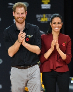 Prince Harry and Meghan Markle Applaud U.K. Health Care Workers From Across the Pond