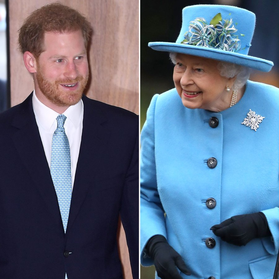 Prince Harry Reveals He's 'Rightly Proud' to Serve Queen Elizabeth