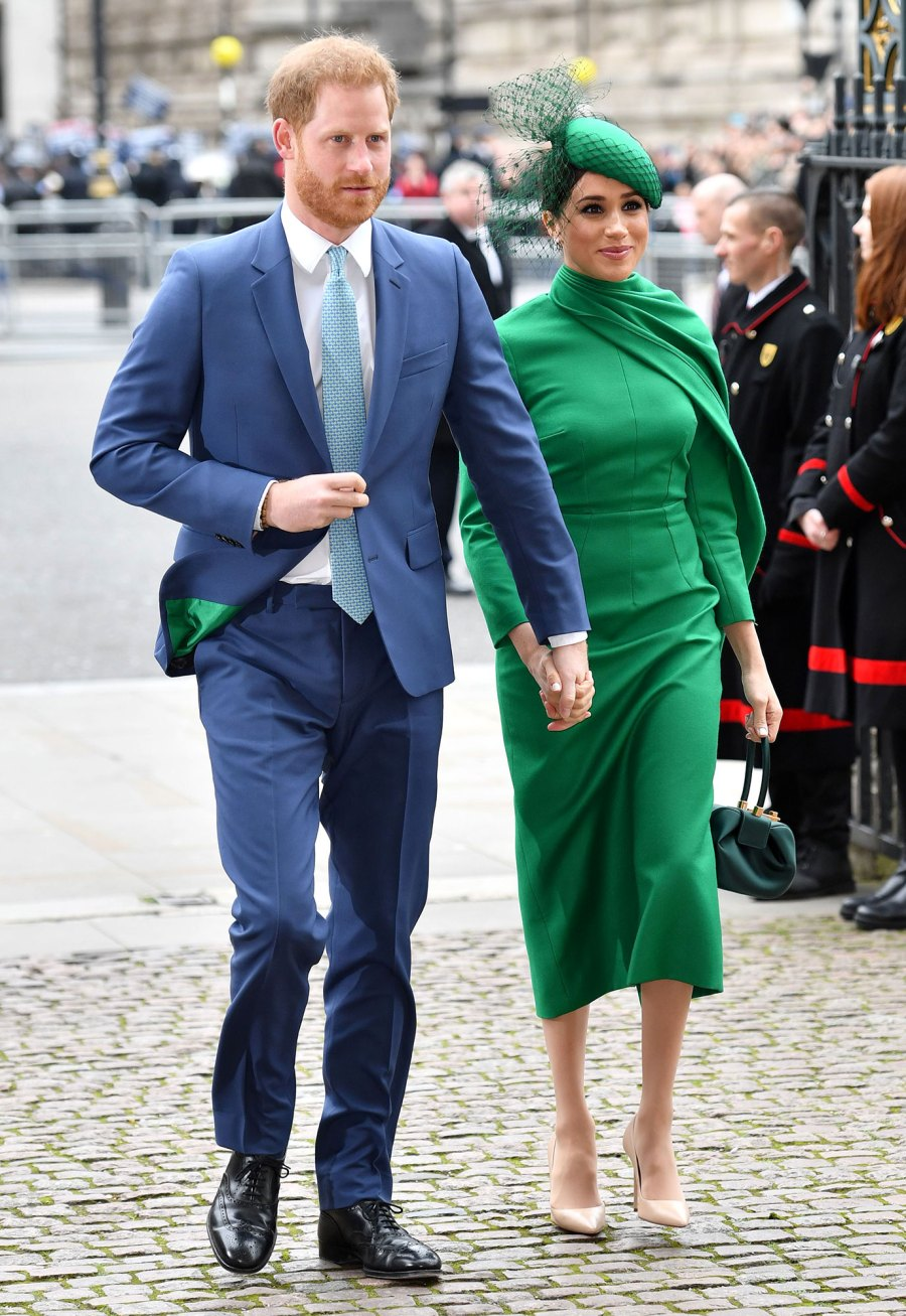 Prince Harry and Meghan Duchess of Sussex Meghan Markle Commonwealth Day