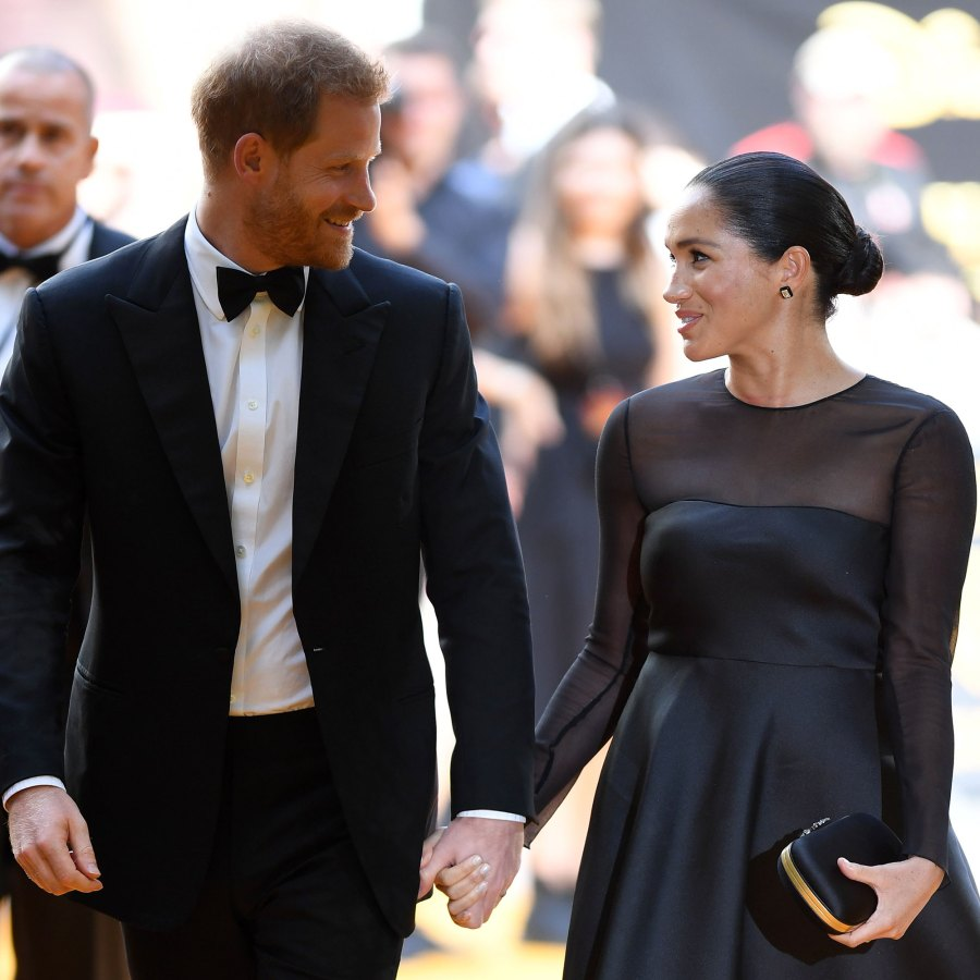 Prince Harry and Meghan Markle Lion King