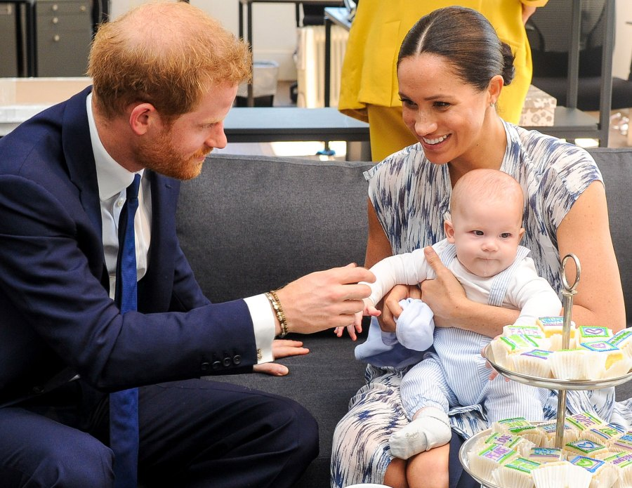Prince Harry and Meghan Markle and Archie How the Royal Family Has Been Affected by Coronavirus