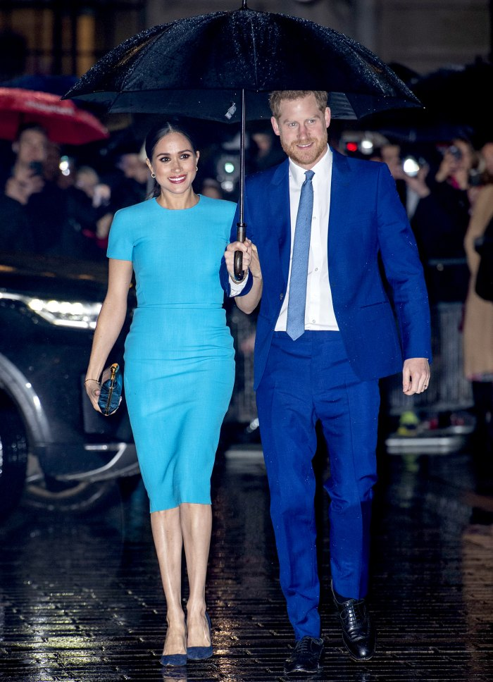 Prince Harry's Countless Signs of Affection for Meghan Markle