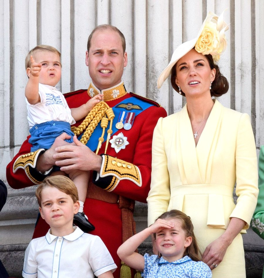 Prince William, Catherine Duchess of Cambridge, Prince Louis, Prince George and Princess Charlotte How the Royal Family Has Been Affected by Coronavirus