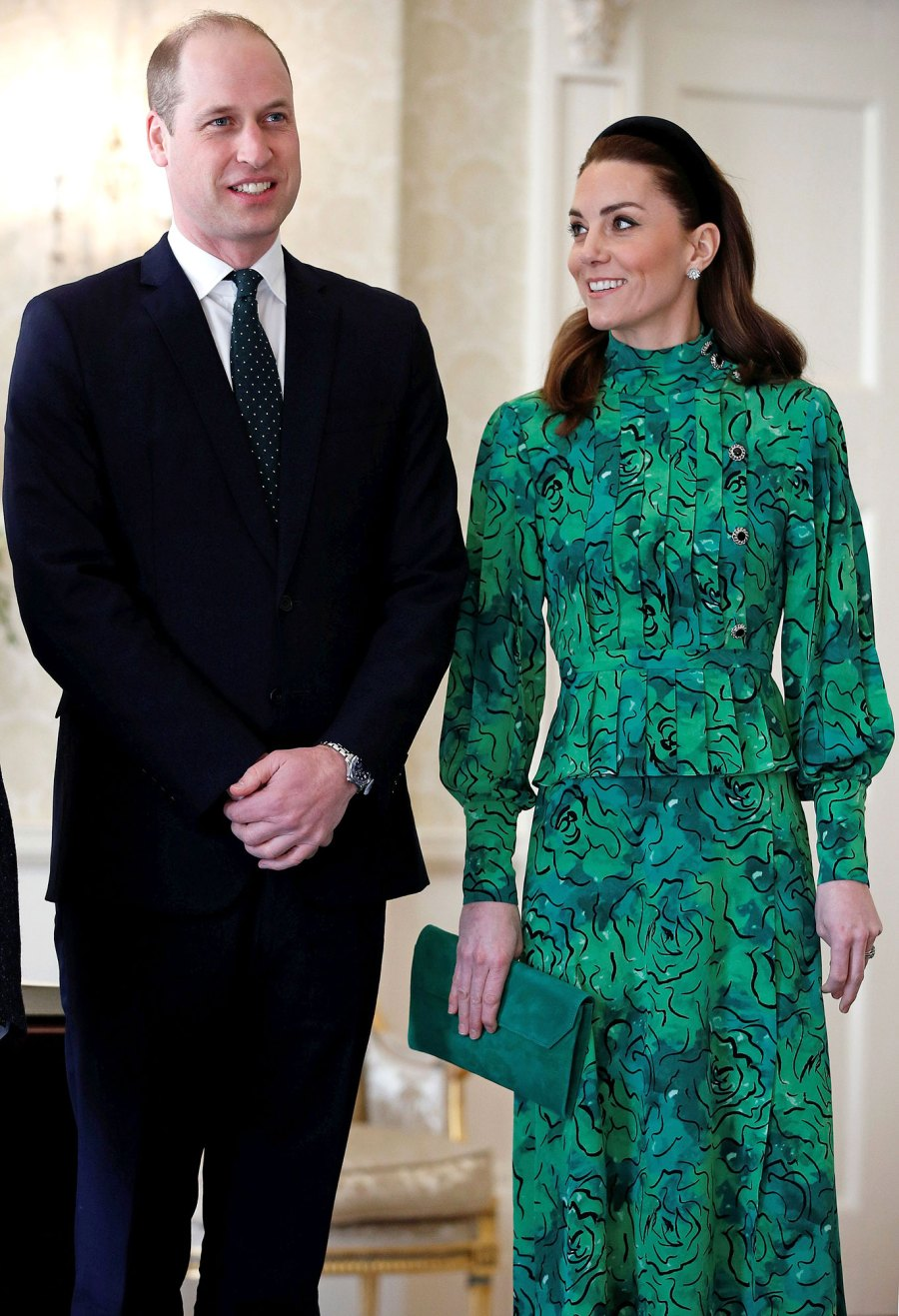 Prince William and Catherine, Duchess of Cambridge Kate Touch Down in Ireland 01