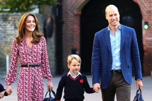 Prince William and Duchess Kate Share Prince George's Mother's Day Card