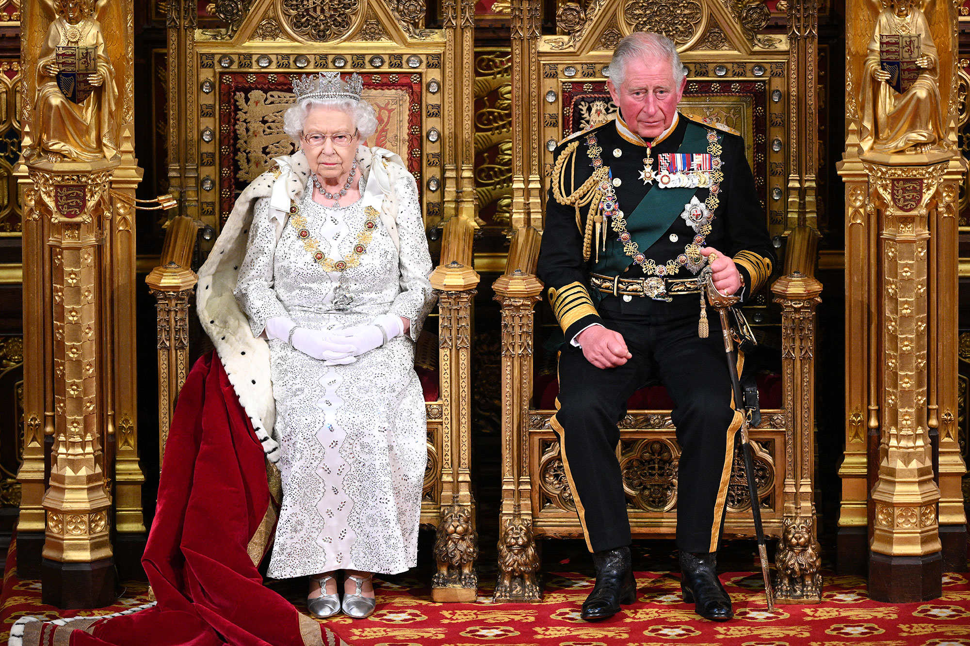 Queen Elizabeth II and Prince Charles State Opening of Parliament Adjust Schedules Amid Coronavirus Pandemic