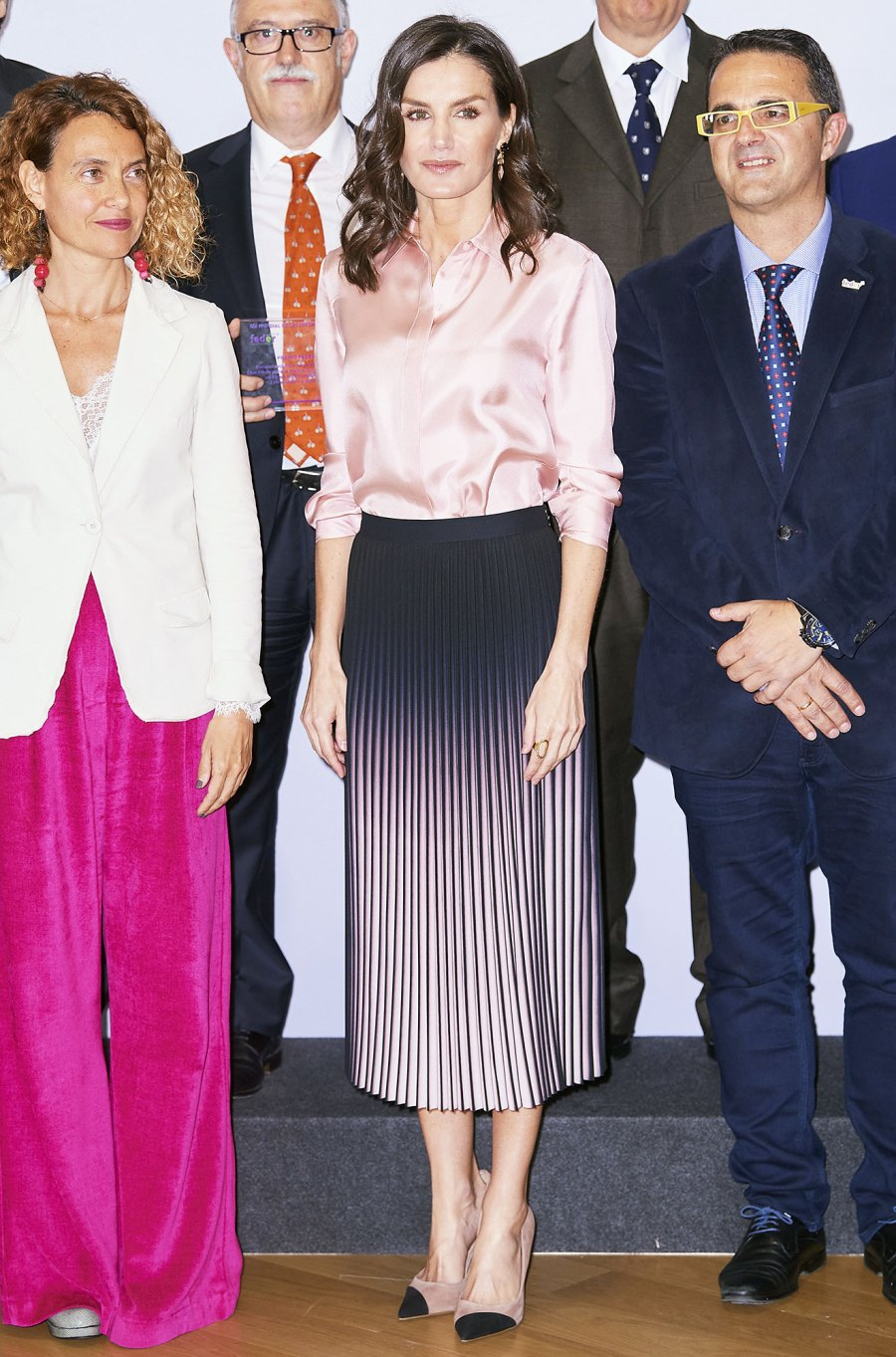 Queen Letizia at World Rare Disease Day event in Madrid