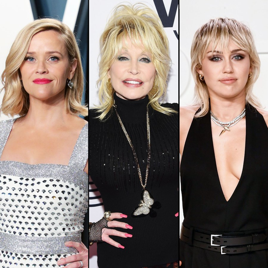 Reese Witherspoon Dolly Parton Miley Cyrus and More Stars React to Deadly Nashville Tornado Disaster